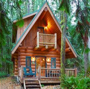 Chalet, Washington, USA